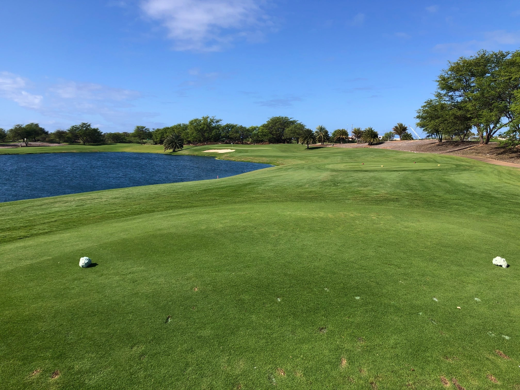 17th hole at Hoakalei Country Club